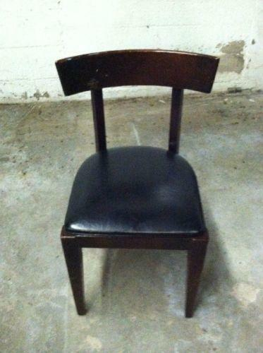 Used wood restaurant chairs ebay