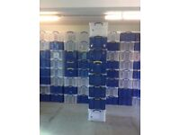 NEW !! STRONG Storage Boxes Really useful BOX Box Handy box Large 42 Litre Storage Boxes