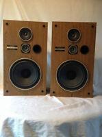 Vintage Pioneer Floor Speakers