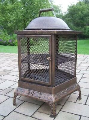 Oakland Living Cast iron Wood Burning Pagoda OAA1442 for sale  Hyde Park