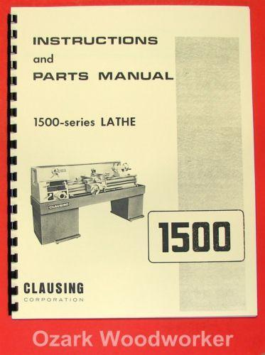 Free Manual clausing 8540 Mill