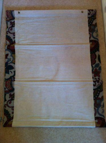 Linen roman blind ebay for Ready made blinds ikea