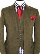 Mens Tweed Suit