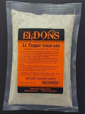 2 Bags of Lite Pepper Jerky Seasoning with Cure Seasons 50 Lbs Colorado # 4092