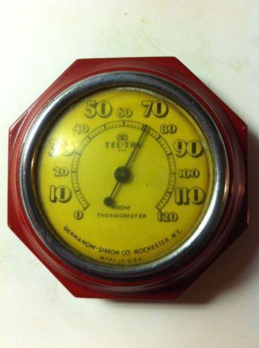 Tel Tru Thermometer Ebay