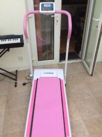 Pink Treadmill for sale. Used but in very good condition