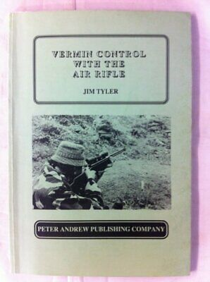 Vermin Control with the Air Rifle by Tyler, Jim Paperback Book The Cheap Fast