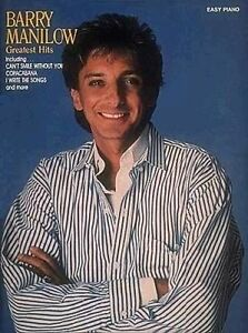 BARRY MANILOW GREATEST HITS EASY PIANO