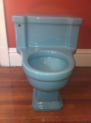 Vintage Blue Toilet Ebay