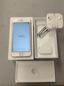 Apple iPhone 6 16GB GOLD - Factory Unlocked! Very Good Condition BOXED WITH ACCESSORIES!!