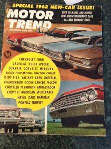 Nov./1961 issue of Motor Trend magazine