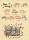 Rover and Land Rover Advertising Automobilia