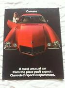 Camaro Sales Brochure
