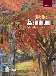 Jazz In Autumn by Nikki Iles, 9 Pieces For Jazz Piano