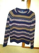 J Crew Mens Sweater Small