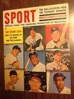 Mickey Mantle Baseball 1962 Vintage Sports Magazines