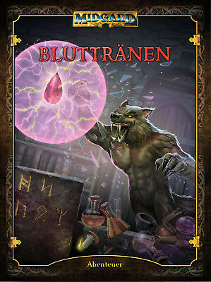 Midgard: Bluttränen (Abenteuerband), Softcover, Rollenspiel, NEU