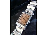 Georgio Armani Watch. GA Designer Wrist watch. EMPORIO ARMANI. AR-0218. Solid Stainless Steel Good
