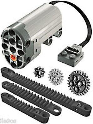 Lego Power Functions Servo Motor   Rack Kit   Technic Gear Crawler Steering Car