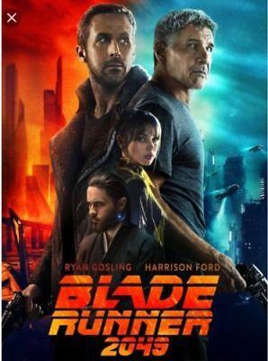 Blade Runner 2049  Dvd 2017  New  Action  S Fiction Pre Order Ships On 1 16 18