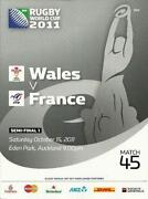 Rugby World Cup Programme 2011