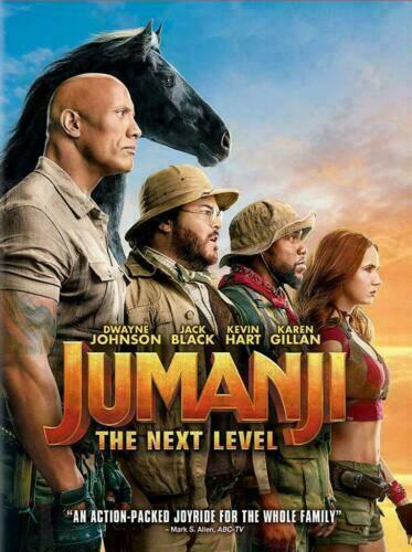 Jumanji The Next Level NEW DVD 2019 * ACTION ADVENTURE *