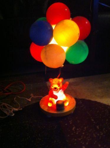 Vintage Winnie The Pooh Lamp Ebay