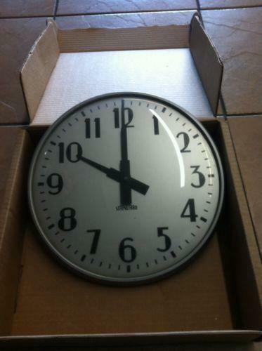 School Clock Ebay
