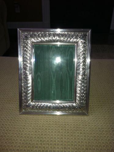 Antique Silver Frame Ebay