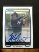 2012 Bowman Chrome Tyler Austin