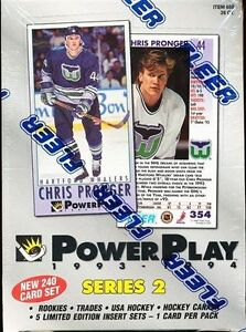 1993-94 POWER PLAY .. SERIES 2 .. ONLY BRODEUR, HASEK powerplays