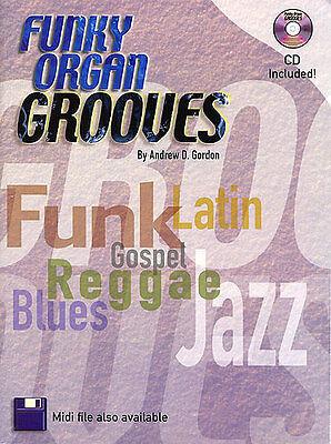 Andrew D. Gordon Funky Organ Grooves Learn