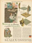 Vintage Linoleum Flooring