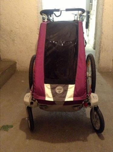 chariot buggy set fahrradanh nger ebay. Black Bedroom Furniture Sets. Home Design Ideas