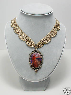 Nene Thomas Cameo Choker Necklace Innocence Fairy Faery fantasy art pendant