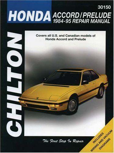 Good Honda Accord Repair Manual | EBay