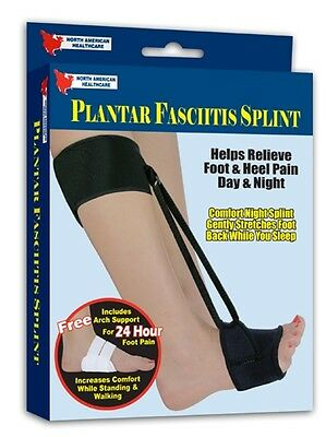 Plantar Fasciitis Heel Splint Foot Stretch Pain Relief  with Brace Arch Support