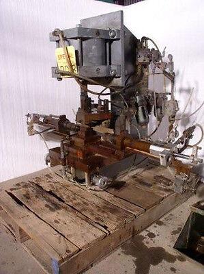2 Ton C-frame Pneumatic Press 12 X 12 Bed 3 Str 10 D.l.o. 8 Throat