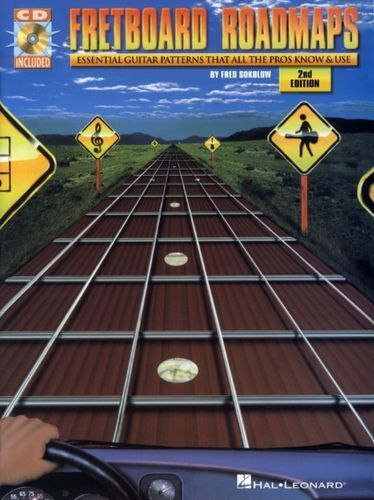 Fretboard Roadmaps Essential Guitar Patterns All The Pros Know & Use Book & CD