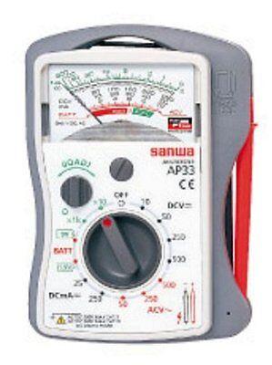 New Sanwa Analog Multi Tester Multimeter Ap-33 Ap33 Japan