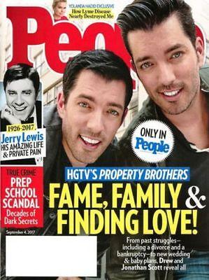 People Magazine September 4  2017 Jerry Lewis  Hgtv Property Bros  Yolanda Hadid