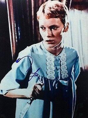 Mia Farrow Signed Autograph 11X14  Rosemarys Baby  Roman Polanski Coa