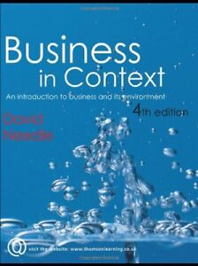 Business in Context-David Needle