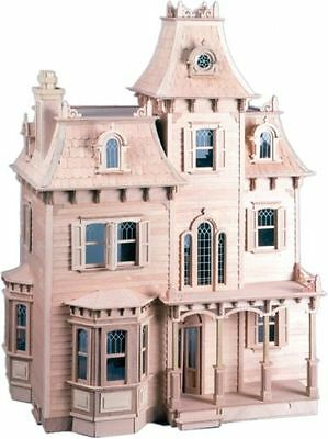 The Beacon Hill Dollhouse Kit Greenleaf Wooden All Wood Doll House Victorian