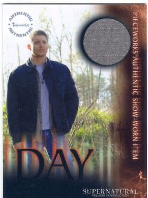 SUPERNATURAL - SEA 3 - JENSEN ACKLES AS DEAN WINCHESTER PW CARD - PW13B - BV$92