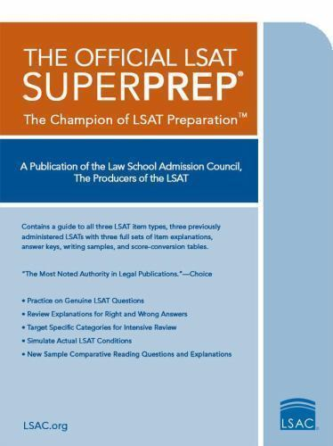 Lsat prep books ebay the official lsat superprep the champion of lsat prep malvernweather