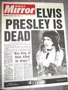 Elvis Newspaper