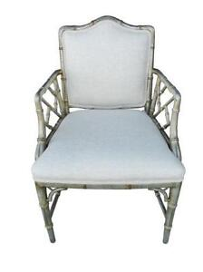 Chippendale Bamboo Chairs