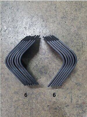 Full Set Of Tiller Tines For Howard Gem G900r G900l 6 Each Lh Rh