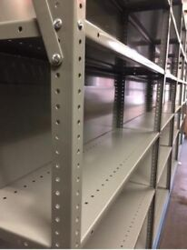 Industrial 5 Tier warehouse,office,Storage Strong Shelving Mobile Shelf Racking With Backing